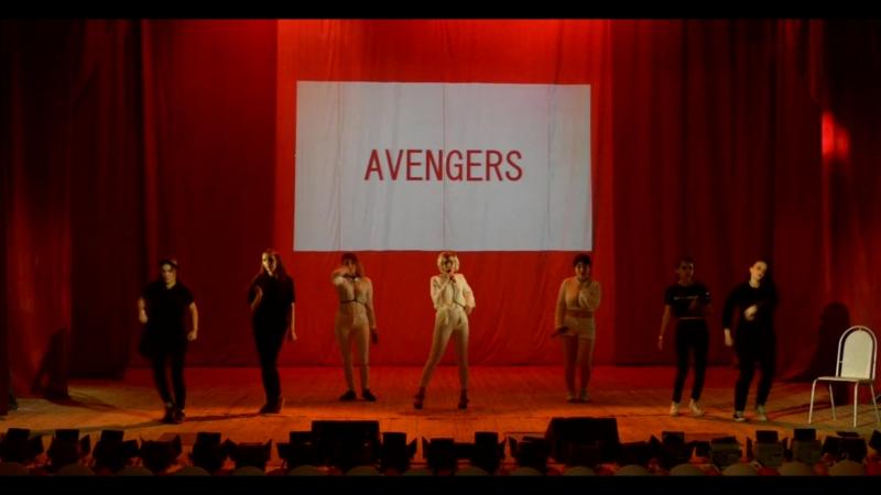AVENGERS - 2NE1 - MIX (Come back home, Cl-the baddest female, Crush), Саратов. Внеконкурс. NIJI-2018 30.06.2018