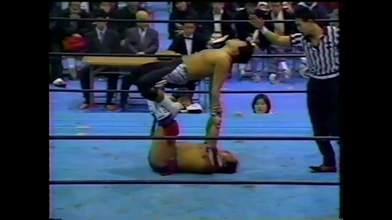 IWA Japan 01 08 1995 Duel of the Wilds