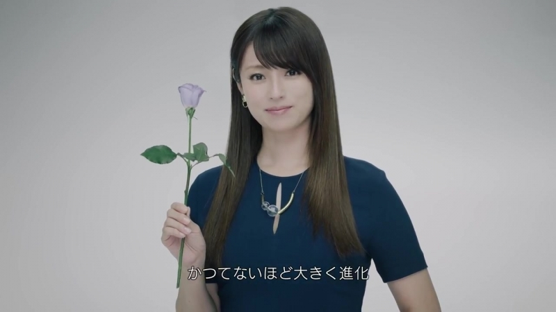 [CM] Fukada Kyoko - Introduction of New 4K 8K Satellite Broadcasting