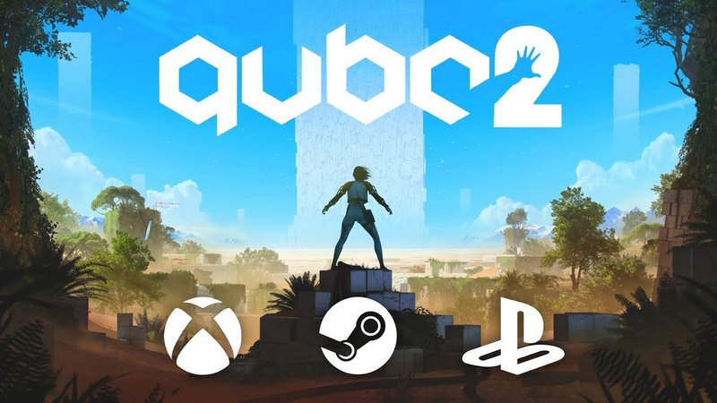 Q.U.B.E. 2 Official Launch Trailer (First-Person Puzzle Adventure Game)