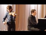 П.Сарасате Цыганские напевы. Матвей Блюмин. Концертмейстер Александр Осминин.