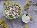 ПОЛЕЗНЫЙ МАЙОНЕЗ КЕШЬЮНЕЗ RAW VEGAN И САЛАТ Mayonnaise from cashews