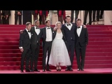 Dominic West, Elisabeth Moss and more on the red carpet for the Premiere of The Square in Cannes