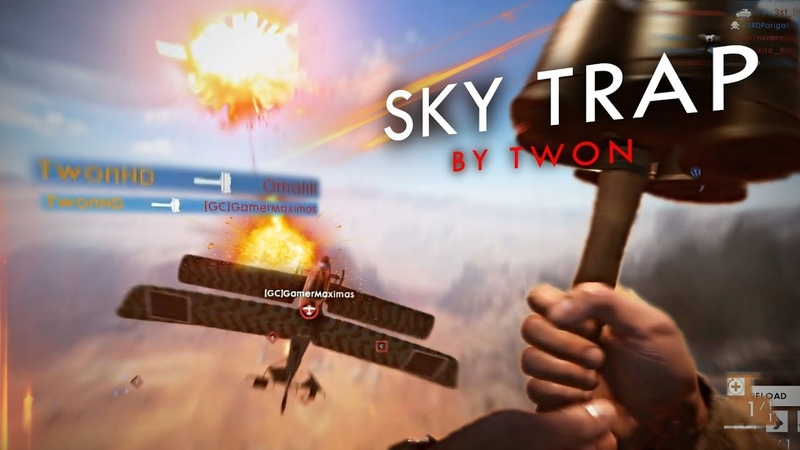 SKY TRAP | Battlefield 1 Mid-Air AT-Grenade Plane Takedown