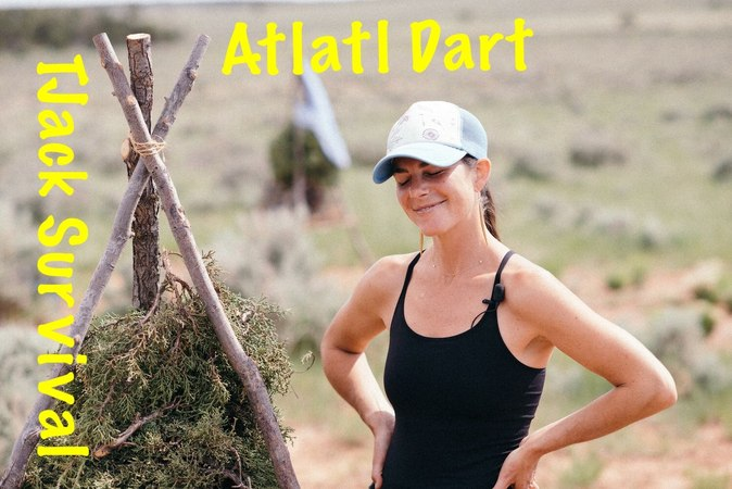 Exclusive Content Atlatl Dart and natural Cordage Chapter of Kirsten Rechnitzs new DVD series