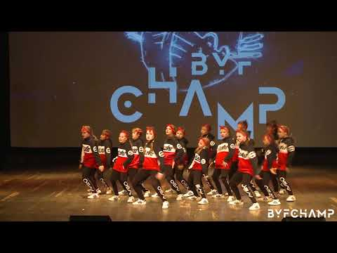 BYF CHAMP 2018 | 1st Place | kids | Neo cubs