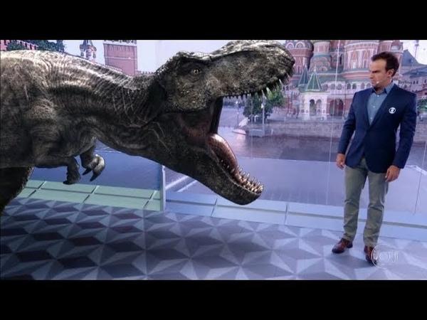 🌏Fantástico Jurassic World Reino Ameaçado traz personagens de outros dois filmes