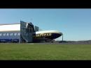Вывоз из эллинга трех разных дирижаблей GoodYear Goodyear rolling out of hangar x3