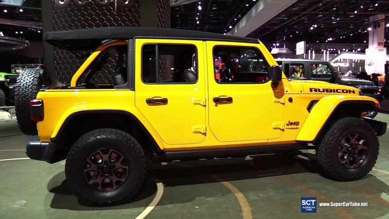 2018 Jeep Wrangler Rubicon - 2018 Detroit Auto Show
