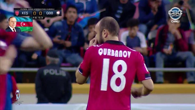 Azərbaycan Kuboku 2017/2018, final, Keşlə 1-0 Qəbələ Geniş icmal