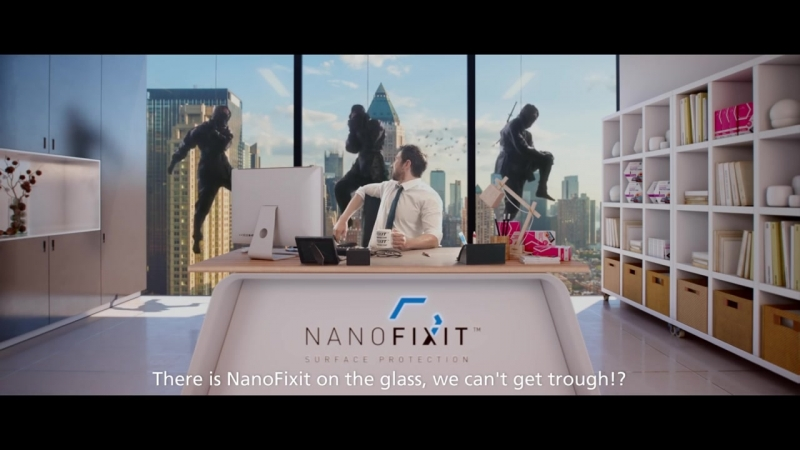 NanoFixit commercial - Office