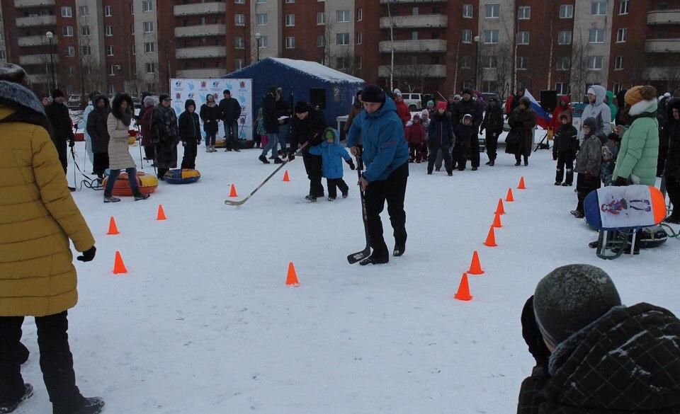 Районный спортивный праздник - Купчинские потехи