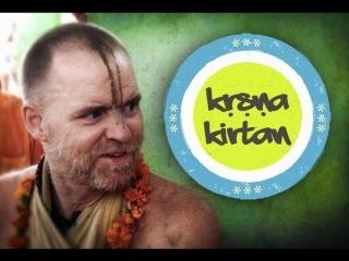 Aindra Dasa - exclusive video. Kirtan at Radha Kunda.12.10.2008 part1