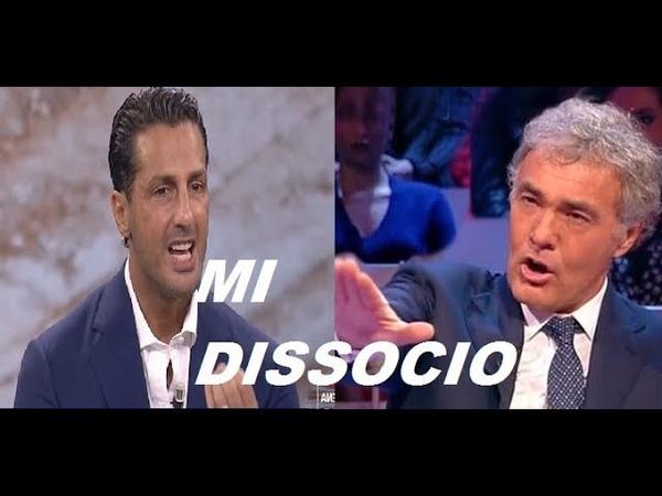 NON E' L'ARENA.F.CORONA SCATENA LA FURIA DI M.GILETTI.OFFENDE LA LUCARELLI CHE NON C'E'