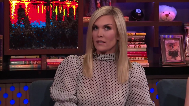Tinsley Mortimer's Tense Moment With Tom D'Agostino ¦ RHONY ¦ WWHL