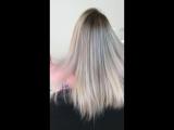 Ледяной блонд (краситель Lebel (Япония))