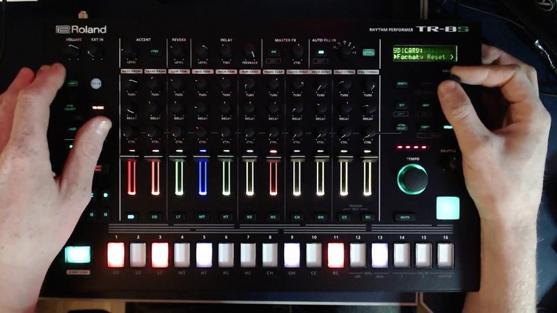 Traits of the TR-8S: Building a Beat from Scratch