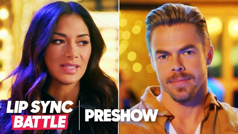 Nicole Scherzinger vs. Derek Hough | Lip Sync Battle Preshow