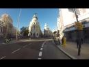 La nueva Gran Vía en bicicleta Madrid