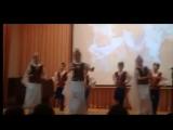 Выступление 4-х классов на фестивале «Наш дом – Россия»