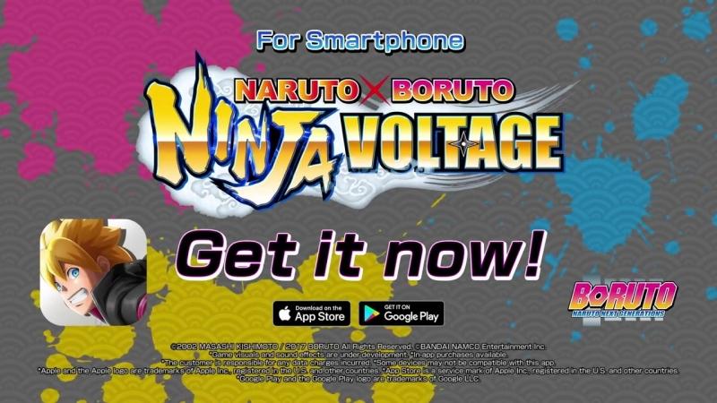 Мобильная игра NARUTO x BORUTO Ninja Voltage