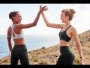 Жозефин в рекламном ролике Victoria's Secret Sport