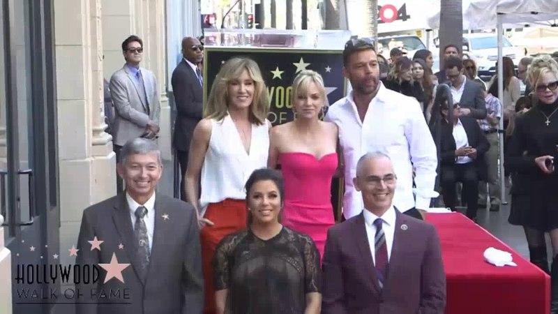 (FULL) Ricky Martins speech the unveiling of Eva Longorias star on Hollywoods Walk of Fame.