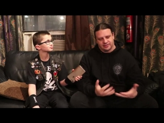 Corpsegrinder of CANNIBAL CORPSE on Christmas, peace, humanity, our current lead
