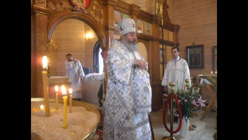 Проповедь Епископа Калачевского и Палласовского Иоанна в день Архистратига Божия Михаила и прочих небесных Сил бесплотных 21.