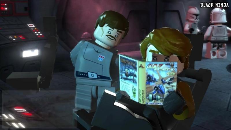 [Black Ninja] Пасхалки в Lego Star Wars III: The Clone Wars [Easter Eggs]