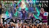 Kamelot Delain &amp Battle Beast LIVE @ Sold Out Irving Plaza New York City cramx3 concert experience