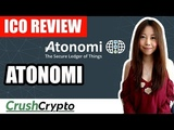 ICO Review Atonomi (ATMI) - Security Protocol for The Internet of Things