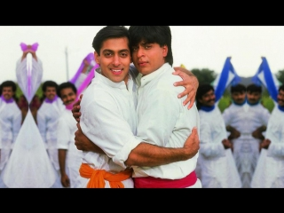 Bhangra Paale Aaja Aaja - Karan Arjun 1995 - Song - Shahrukh Khan - Salman Khan