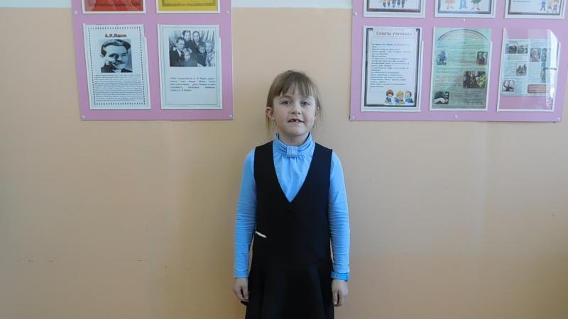 Участница акции ивая вода Некипелова Таня ученица 1 класса СОШ №1 г Никольска