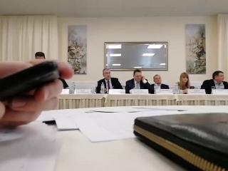 Заседание Консультативного совета Предпринимателей при Зак. Собрании ЛО. Выборы председателя комитет