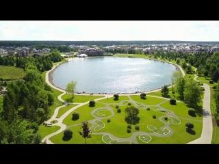 Аэросъёмка Миллениум парк