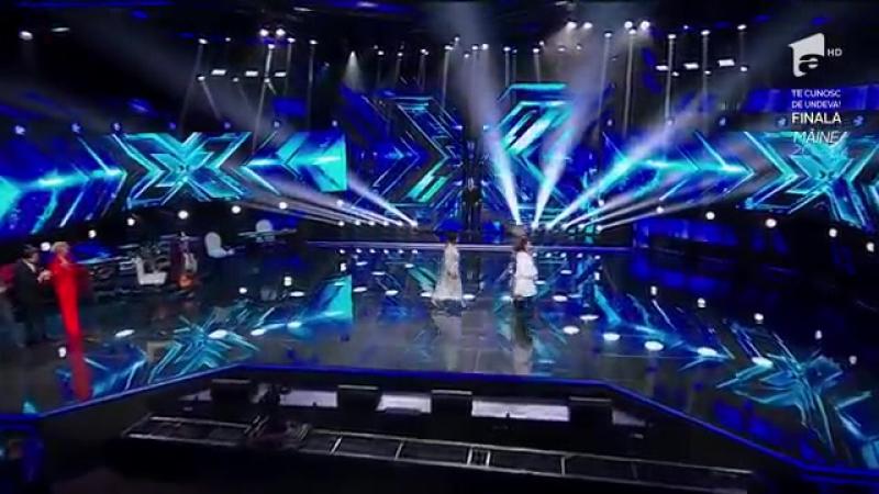 Delia, Horia Brenciu, Carlas Dreams şi Ștefan Bănică cântă pe scena X Factor