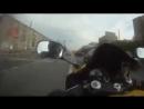Езда по пробкам на Ямахе Р1