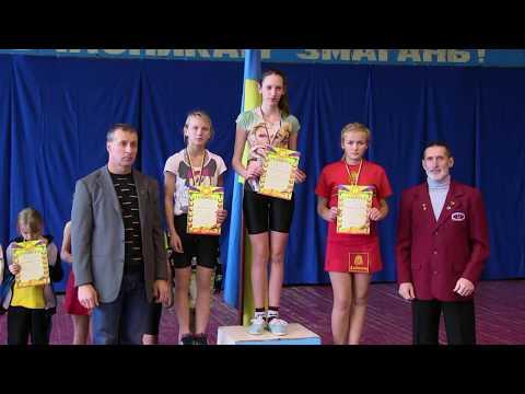 Гиревой спорт Чемпионат Украины ноябрь 2017 г учащиеся девочки