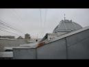 на крыше Витебского вокзала