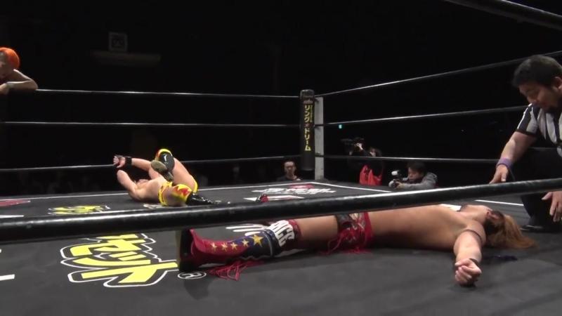 Akira Jo Keisuke Okuda Naomi Yoshimura vs Koju Takeda Shunma Katsumata Yuki Ueno DDT DNA 44