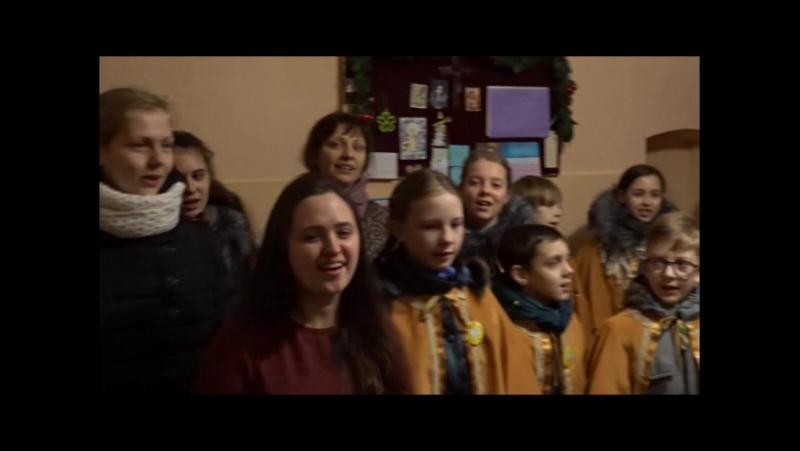 Scholka Misterium z parafii pw.Matki Bożej Anielskiej w Grodnie