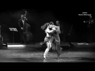 Tango Derecho Viejo. Julian Sanchez y Melina Mourino with Solo Tango orchestra. Танго. 2014