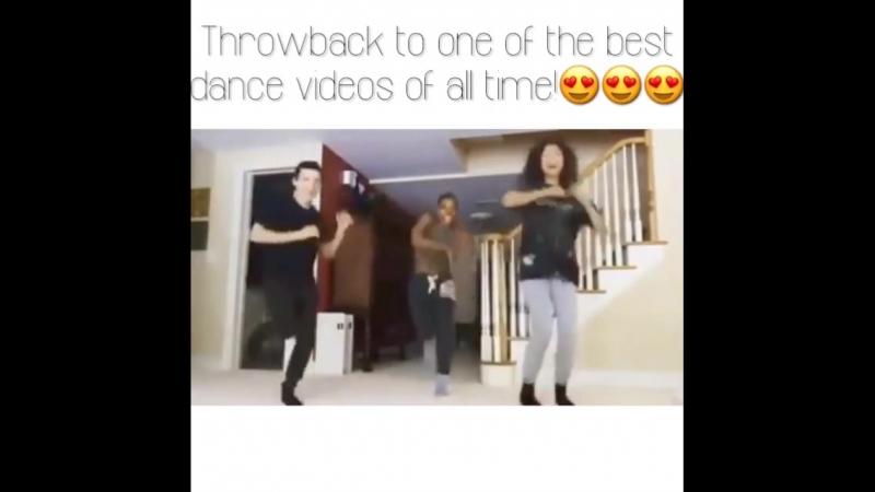 Танец Тома Холланда и Зендаи с хореографом