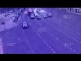 Пьяный приезжий прокатил патрульного по столичной трассе