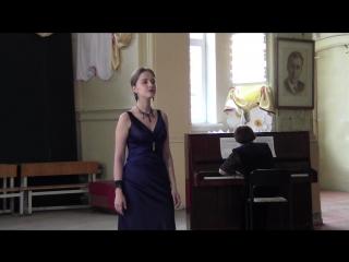 Гос.экз.Академический вокал.Анжелика Гинзбург.