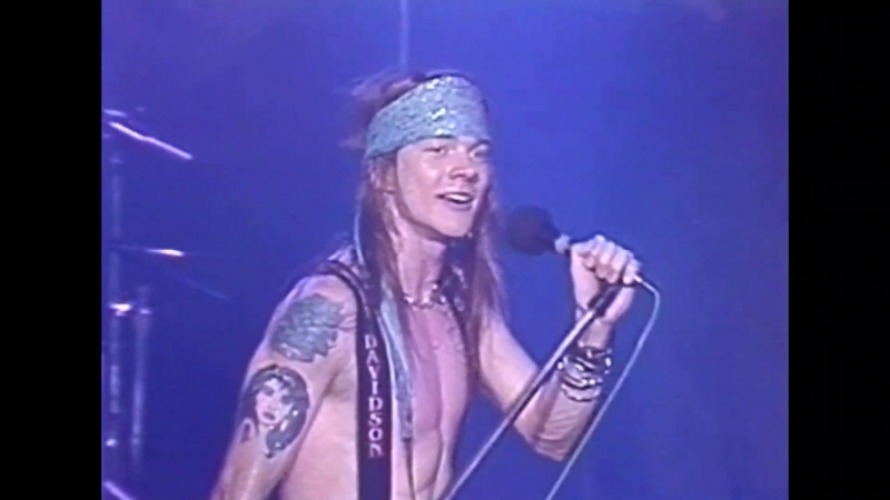 GUNS N ROSES - 1988.02.02 - Live from The Ritz, New York [PRO]