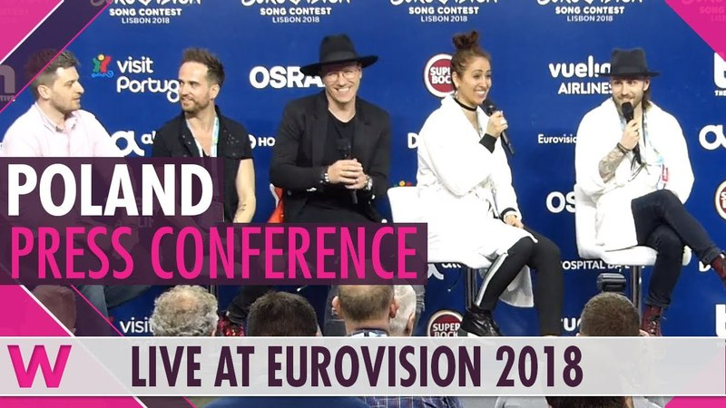 Poland Press Conference Gromee feat Lukas Meijer Light Me Up @ Eurovision 2018 wiwibloggs
