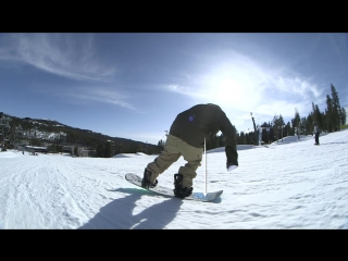 Snowboard Addiction  Buttering (Goofy) - 180 Tail Butter 180 Goofy