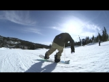 Snowboard Addiction| Buttering (Goofy) - 180 Tail Butter 180 Goofy